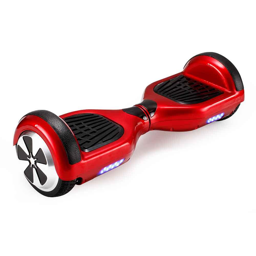 hover board red, xe điện tự cân bằng màu đỏ, xe điện thông minh màu đỏ