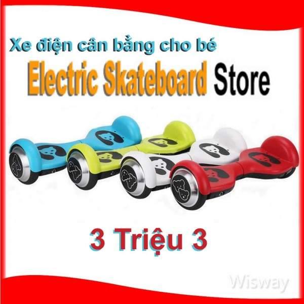 Xe điện thông minh Bé trẻ em bánh 4.5