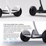 Xe điện thông minh tự cân bằng cần điều khiển đầu gối bánh 10 bơm hơi chống cháy